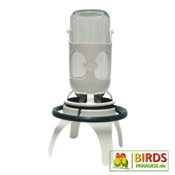 futter und wasserautomat mit st nder 1 liter. Black Bedroom Furniture Sets. Home Design Ideas