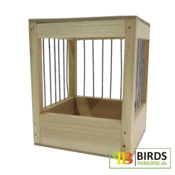volierennest aus holz 11 x 11 x 14 cm. Black Bedroom Furniture Sets. Home Design Ideas