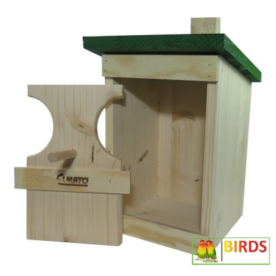 rotkehlchen nistkasten vogelhaus rotkehlchennistkasten. Black Bedroom Furniture Sets. Home Design Ideas